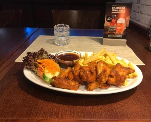 Restaurant-Mühlenstein-Wedel-Burger-Pizza-Brunch-Mittagstisch Chicken Wings