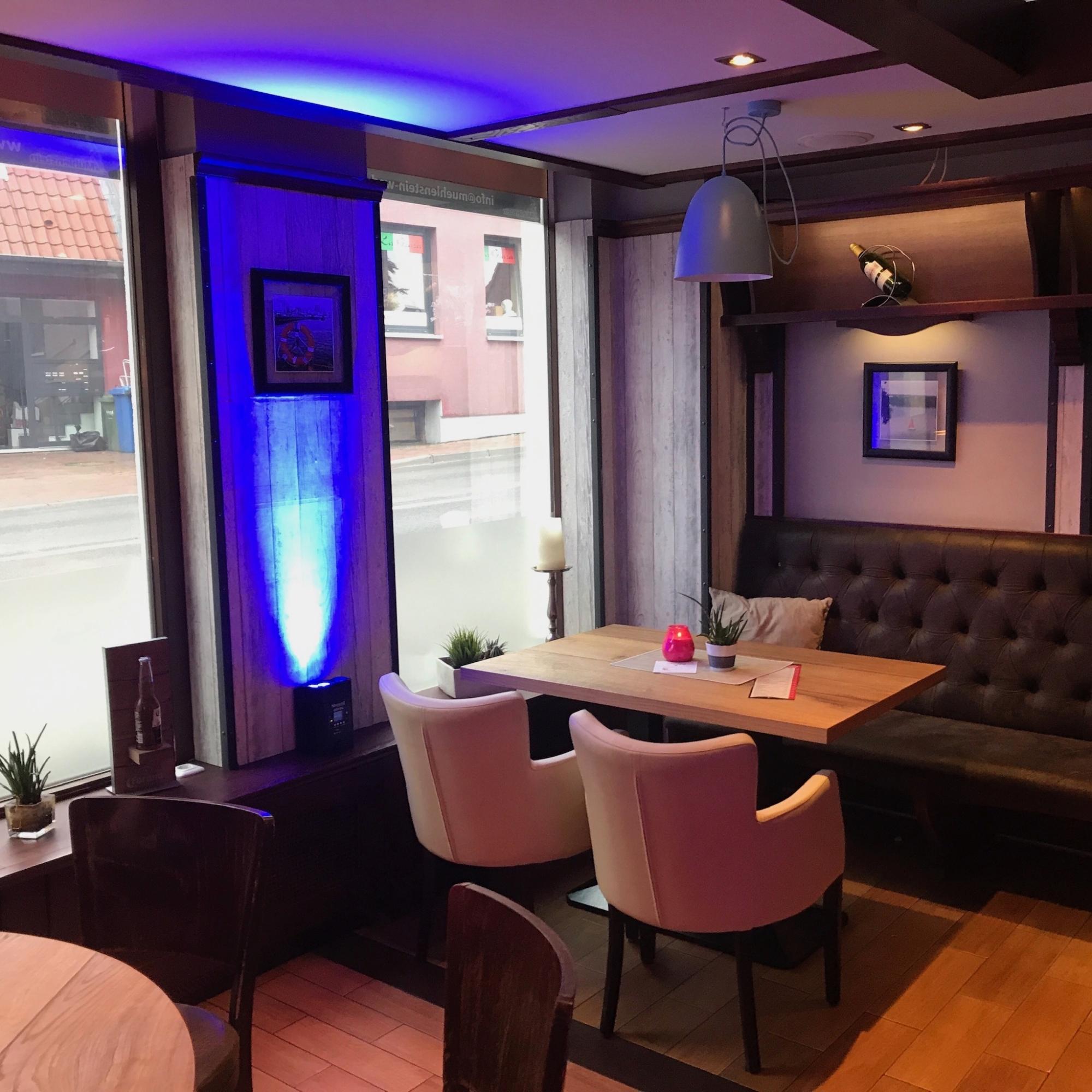 Restaurant-Wedel-Mühlenstein-Burger-Pizza-Brunch-Afterwork Sitzplatz Innenbereich